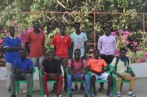 élèves du CFFO de Warang